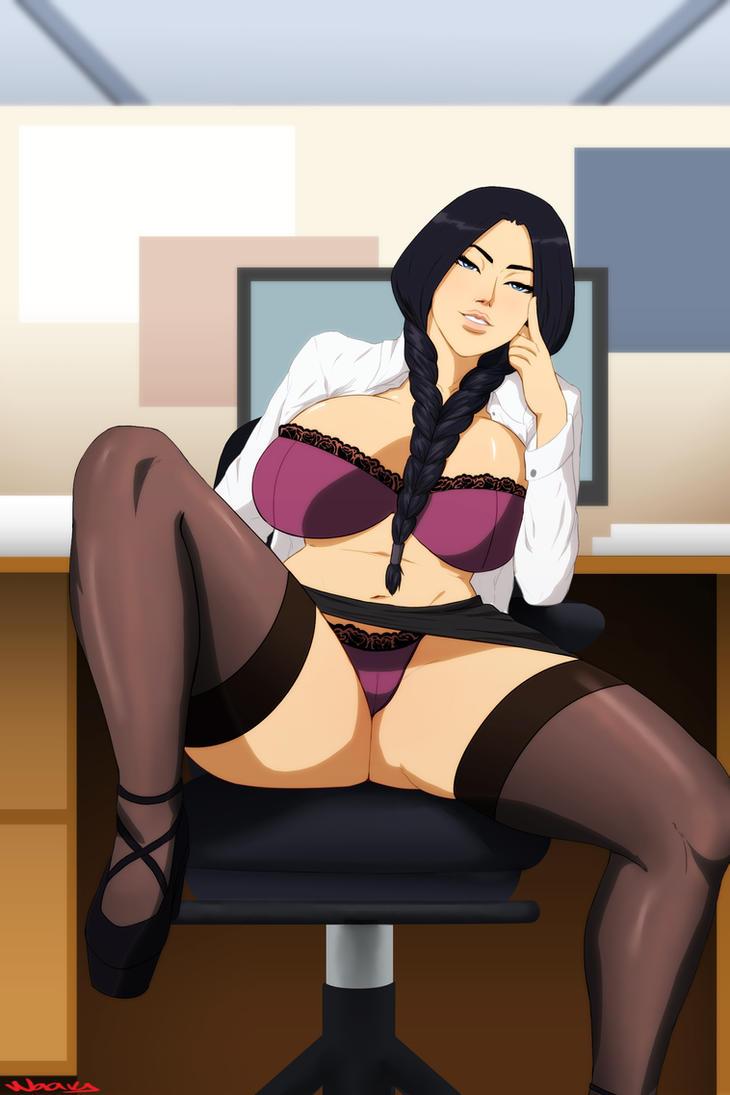 Secretary Retsu by Naavs