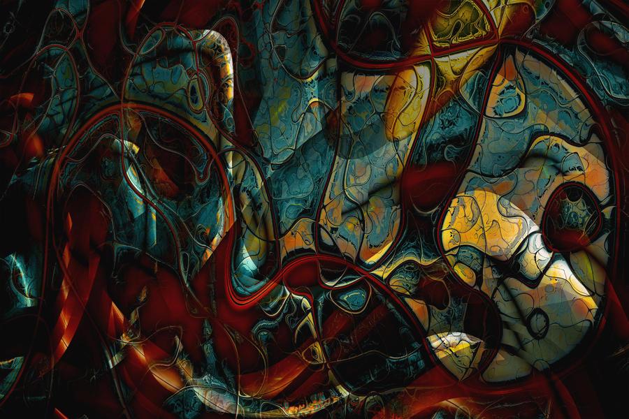 perlin noise II by vanderlen