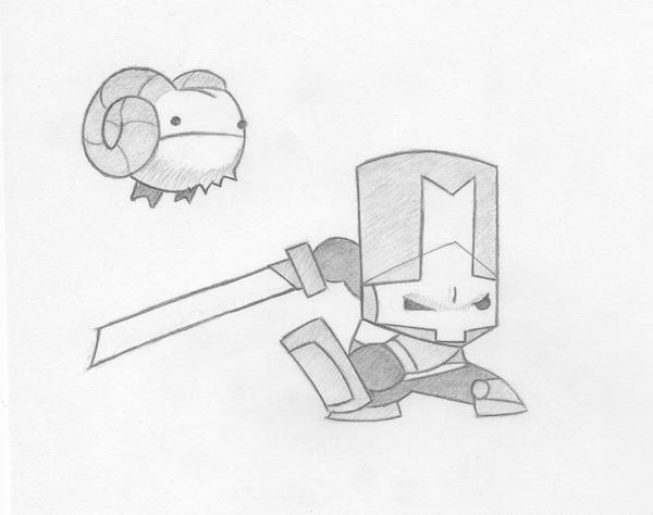 castle crashers coloring pages - castle crashers by open circle on deviantart