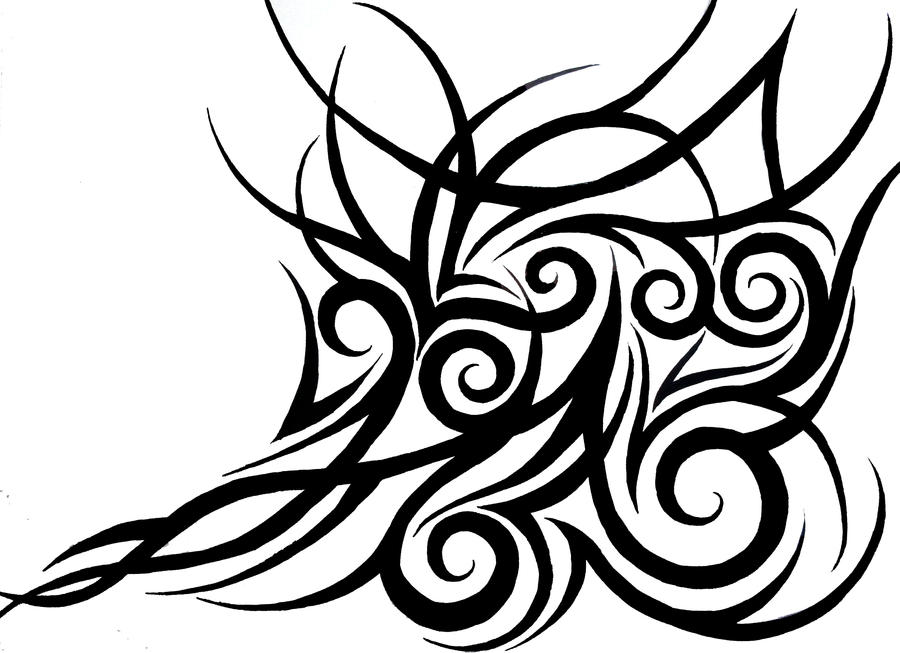 tribal design 3 by KatieConfusion on DeviantArt