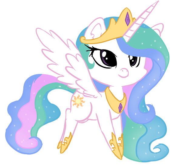 Chibi Celestia :U By AllyJayy On DeviantArt
