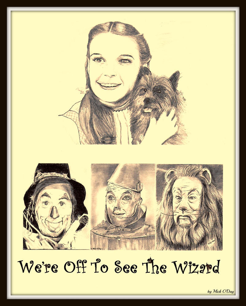 We're Off To See The Wizard by marmicminipark