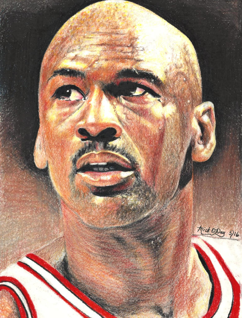 Michael Jordan by marmicminipark