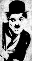Charlie Chaplin by marmicminipark