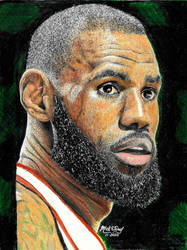 LeBron James by marmicminipark