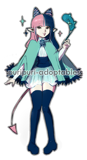 [Hotesse] OPEN ADOPT - Cash FCFS! by PuriPuri-Adoptables