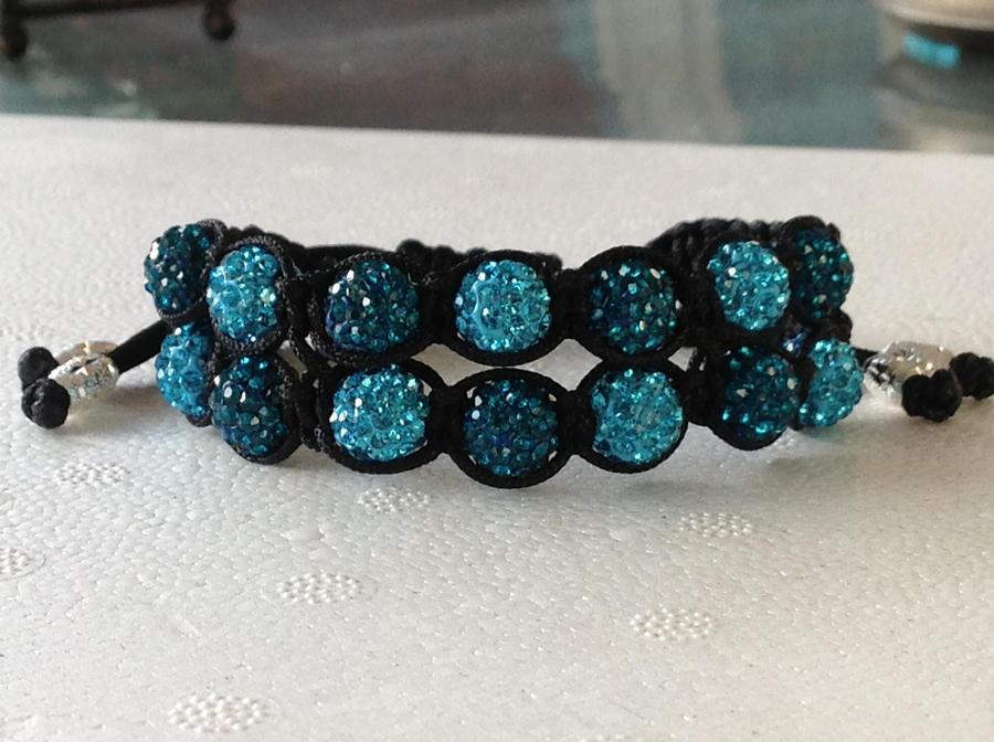 Shamballa bracelet by theBallandChain