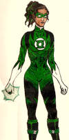 Green Lantern by QueenAravis