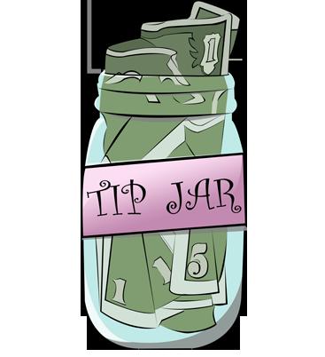Tip Jar by MarionSipe