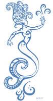Mermaid Tat by Koneko-Chelle