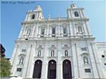 Sao Vicente de Fora Church Lisbon. by AraujaPhoto