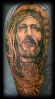 Part of Jesus sleeve