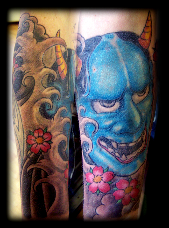 hannya mask by wildthingstattoo on deviantart. Black Bedroom Furniture Sets. Home Design Ideas