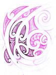 Maori - tribal sketch