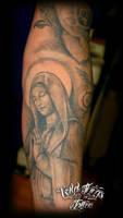 Religious statue part sleeve