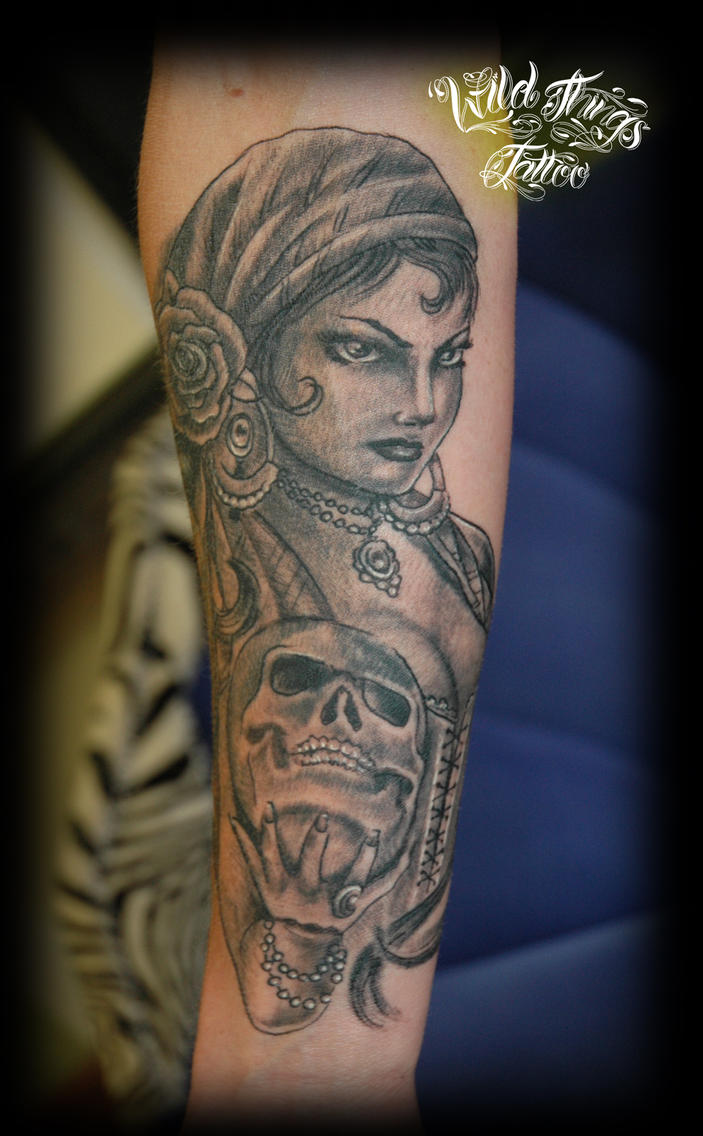 Gipsy tattoo by ~WildThingsTattoo on deviantART