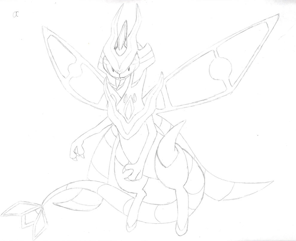 flygon coloring pages - photo#24