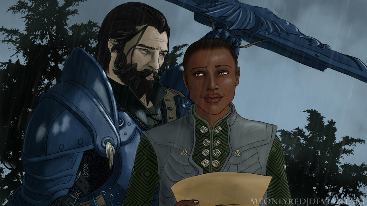 Comission: Blackwall and Guinevere by meonlyred