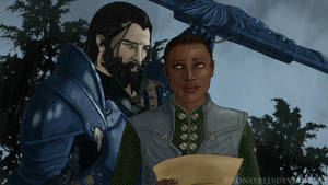 Comission: Blackwall and Guinevere