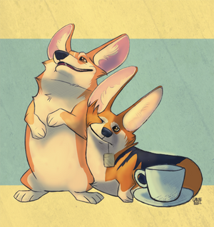 Commission: Riley and Winnie