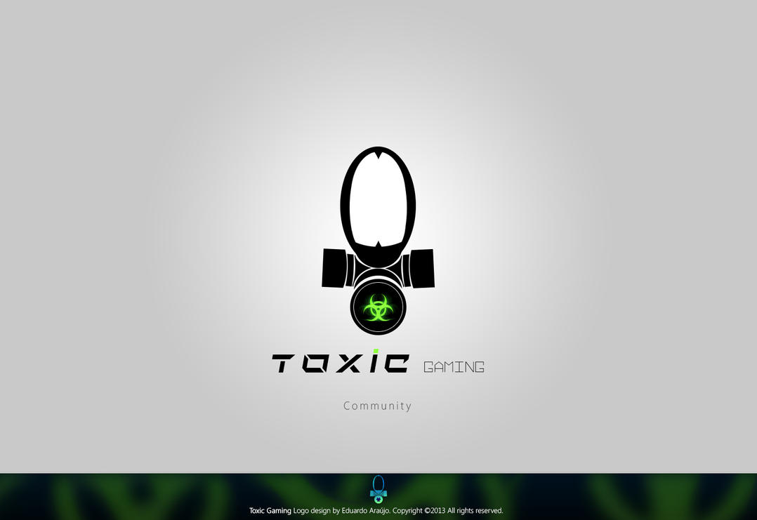 Populaire Toxic Gaming Logo design by Eduardo-Araujo on DeviantArt HV77