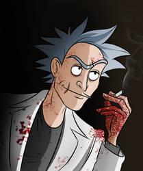 Evil Rick by Slatena