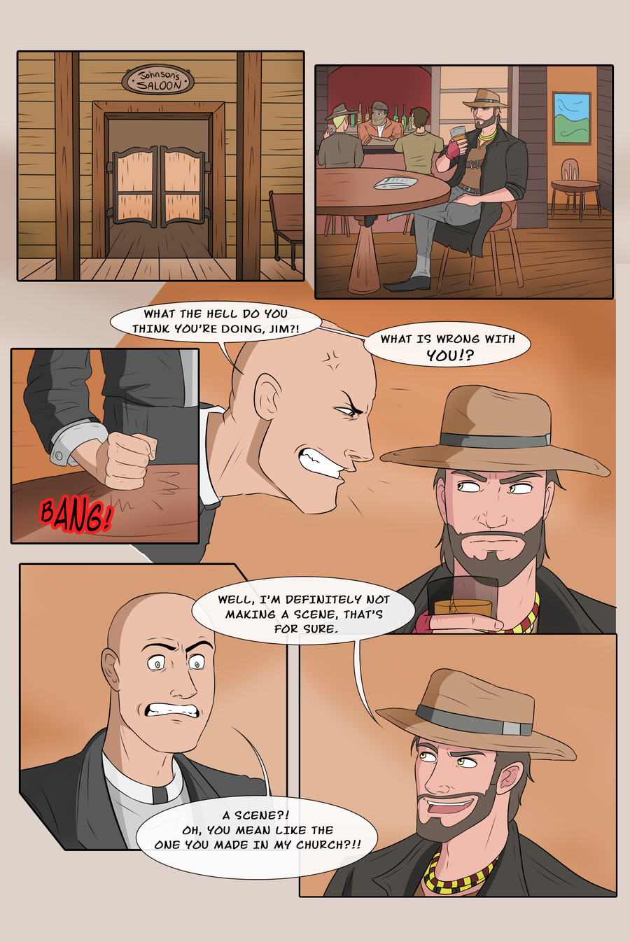Perilous Jim - Page 4 by Slatena