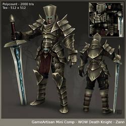 wow Death Knight Final by saruzann