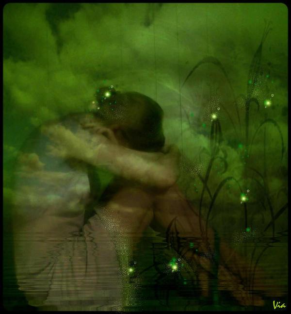 Enjoy the silence... by viaviolet