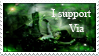 stamp by viaviolet