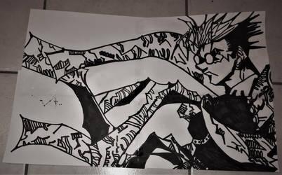Trigun Manga Vash The Stampede by AssassinGio95