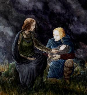 Rian gives Tuor to Annael