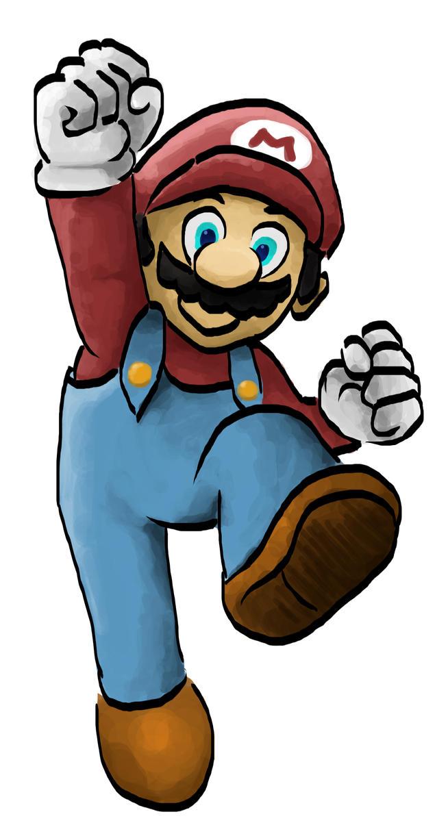 Mario by senpoRIOT
