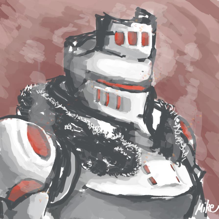 Molten Knight by senpoRIOT