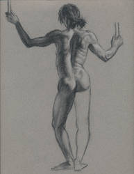 Nude figure 1 by Bearpuncher