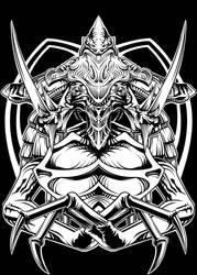 Hydro74 Zerg Queen by Bearpuncher