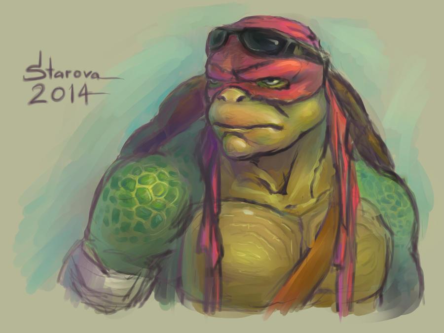 Raphael 2014 (TMNT) by Pax77Vibiscum7Astras on DeviantArt