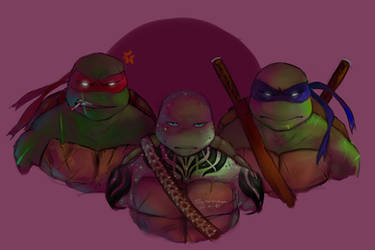 TMNT by Pax77Vibiscum7Astras
