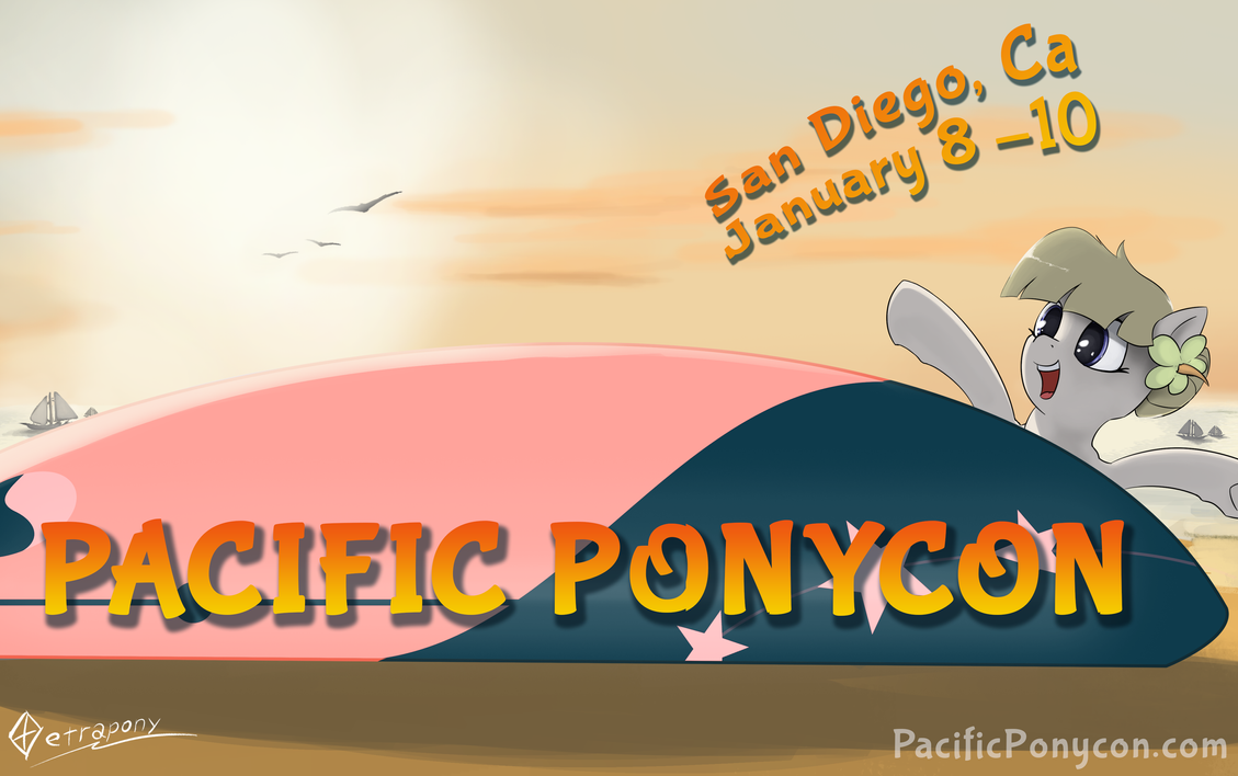 Pacific PonyCon 2016! by PacificPonyCon