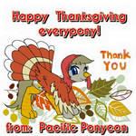 Pacific PonyCon Happy 2015 Thanksgiving