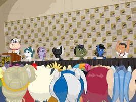 Order of Friendship Panel at SDCC by PacificPonyCon