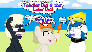 PPC wishes everypony Happy Labor Day 2016 by PacificPonyCon