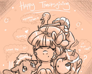 PPC 2016 - Happy Thanksgiving by PacificPonyCon