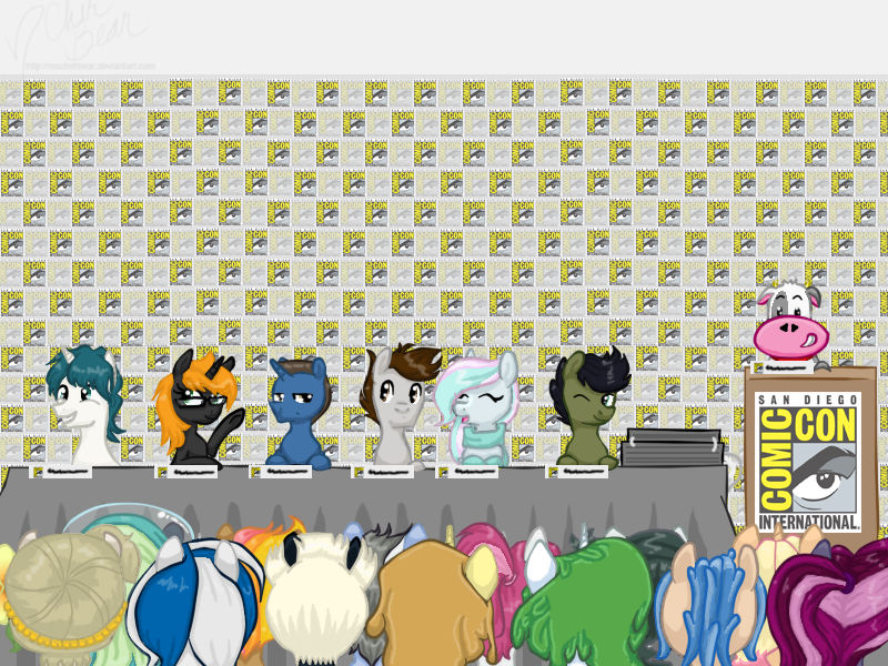 Bronies: The Fandom of My Little Pony at SDCC2017 by PacificPonyCon