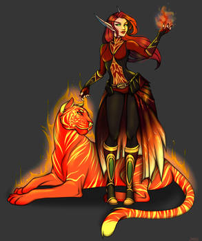 Commission: Fire Mage