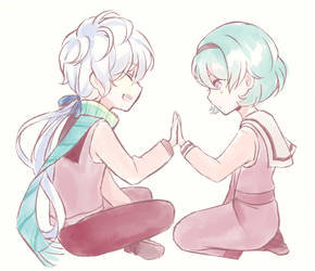 [SA] smol hands ! by luluteatime