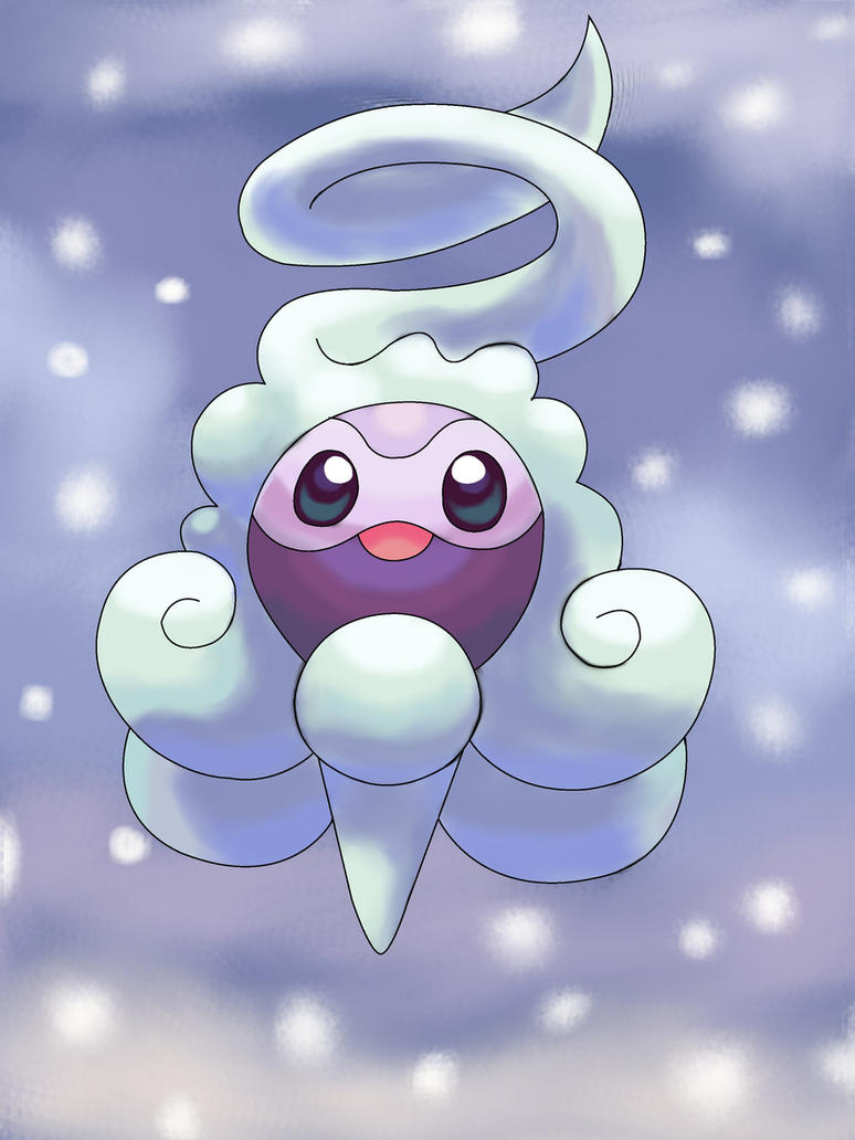 Let it snow, Castform by YoshiGamerGirl