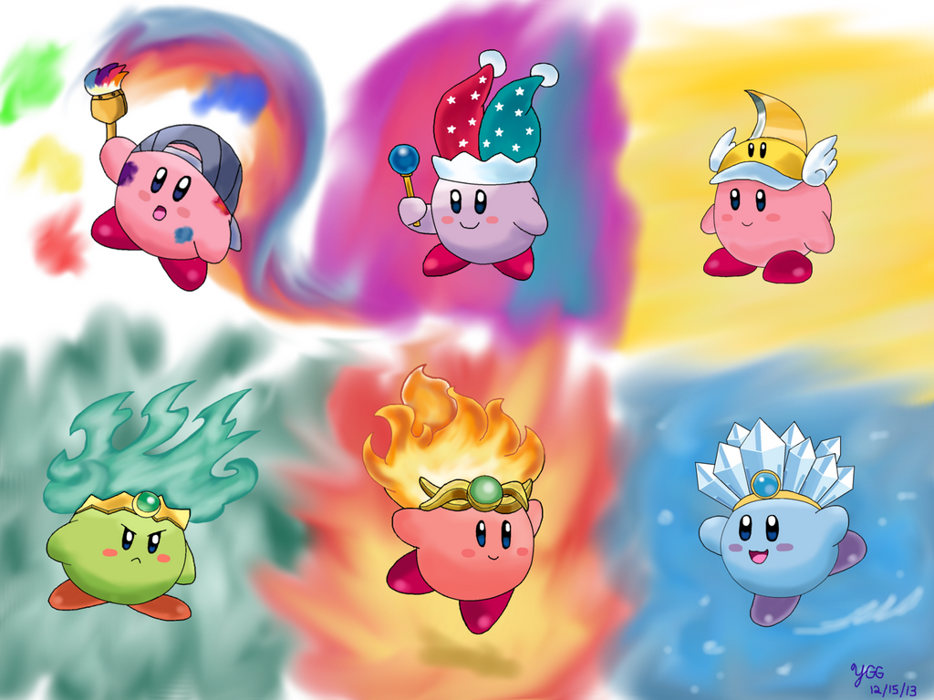 Kirby Superstar Ultra Abilities By YoshiGamerGirl