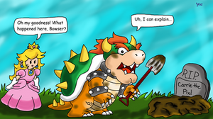 Bowser was too heavy