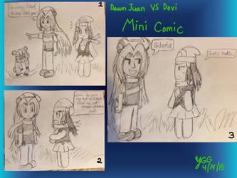 Dawn Juan VS Dovi Mini Comic by YoshiGamerGirl